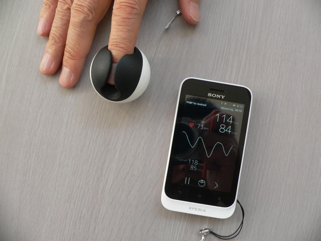 vérnyomásmérés telefonnal