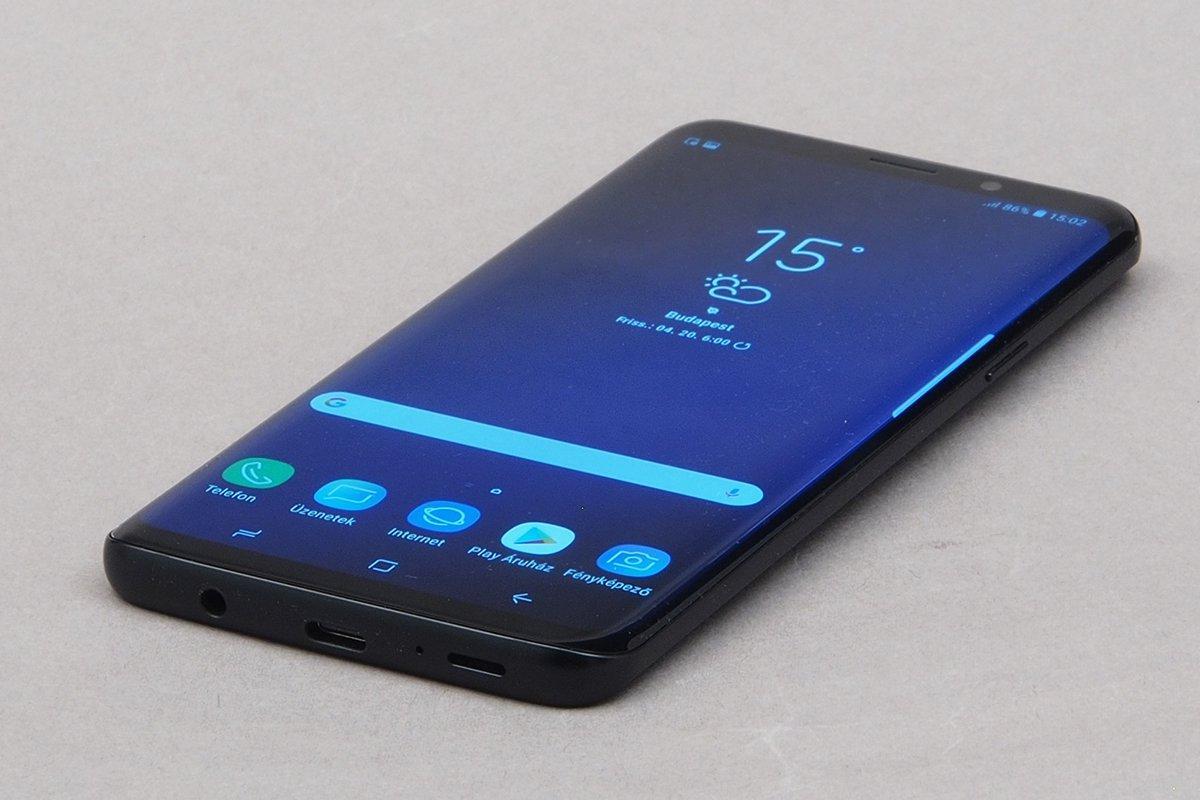 Természetesen a Samsung Galaxy S9+ prémium anyagokból készült  elöl és  hátul Gorilla Glass üveget 0fb5130111